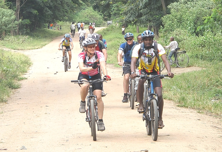 Lake Manyara Side Route Biking