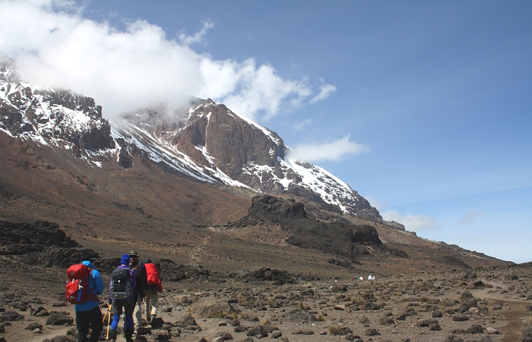 Hiking to Lava Tower, Kilimanjaro